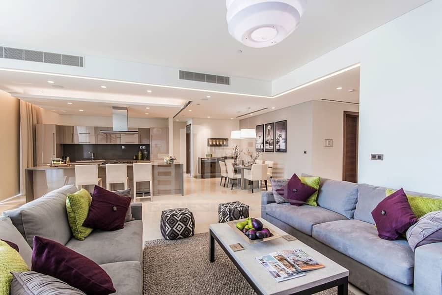 3BR Luxurious finishing Flat- 75% on Completion