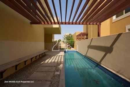 4 Bedroom Villa for Sale in Al Raha Gardens, Abu Dhabi - 4BR Villa Type A Corner with Pool+Garden