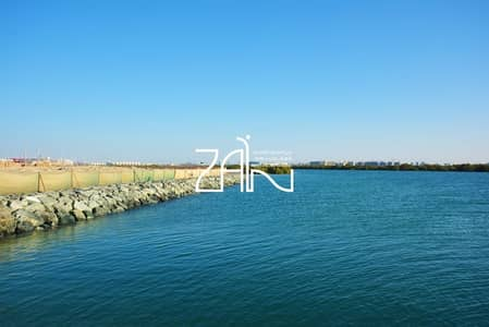 Plot for Sale in Yas Island, Abu Dhabi - Premium Sea View Plot West Yas For Sale