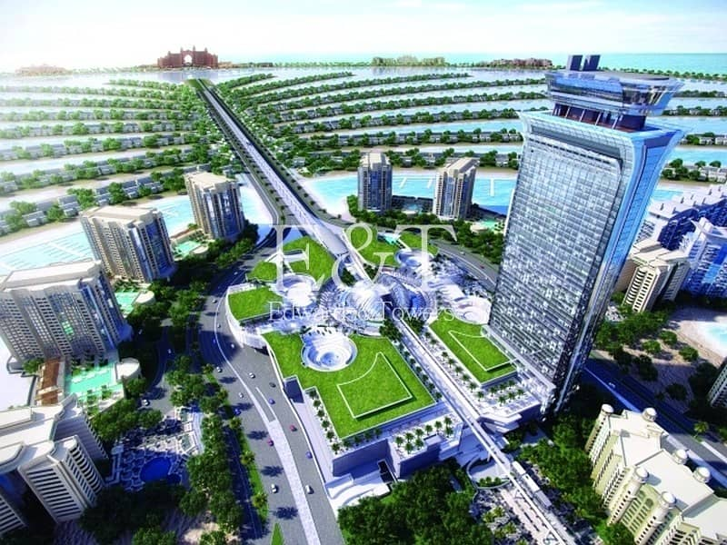 City living in The Heart of Palm Jumeirah