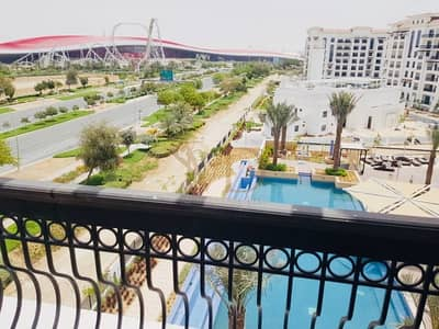 3 Bedroom Flat for Sale in Yas Island, Abu Dhabi - View below from above in this high floor home
