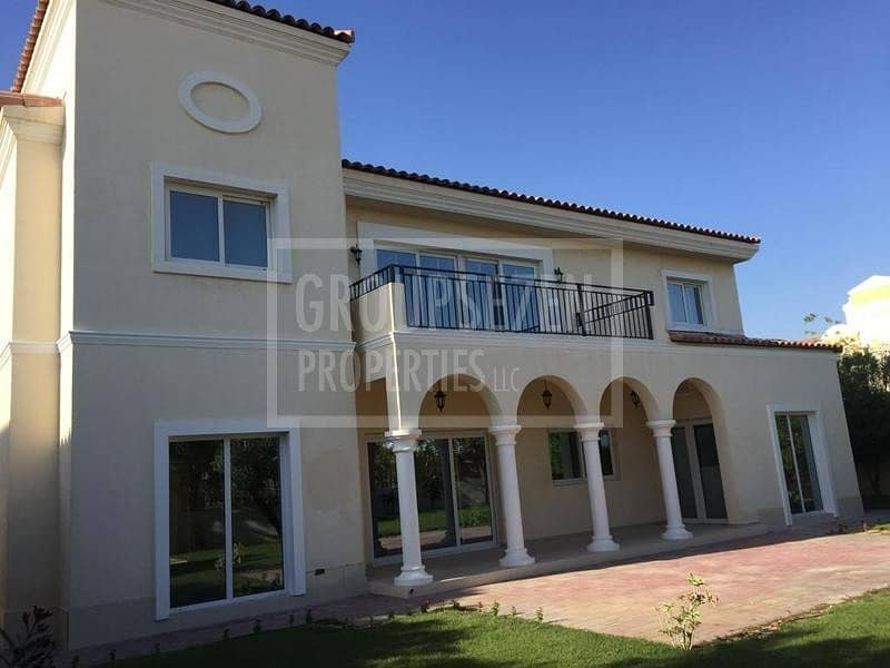 Immaculate Amazing Corner 5 BR Villa with maid for Sale Green Community