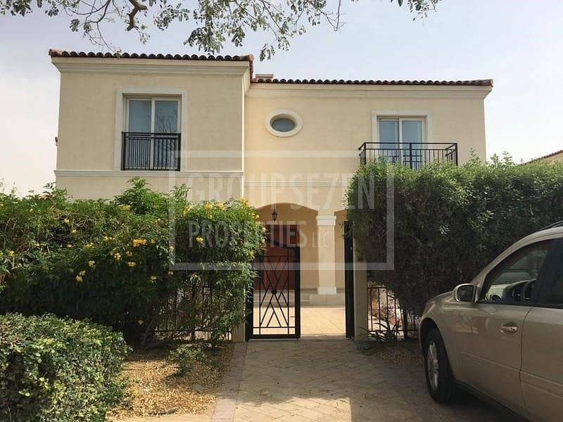22 Immaculate Amazing Corner 5 BR Villa with maid for Sale Green Community