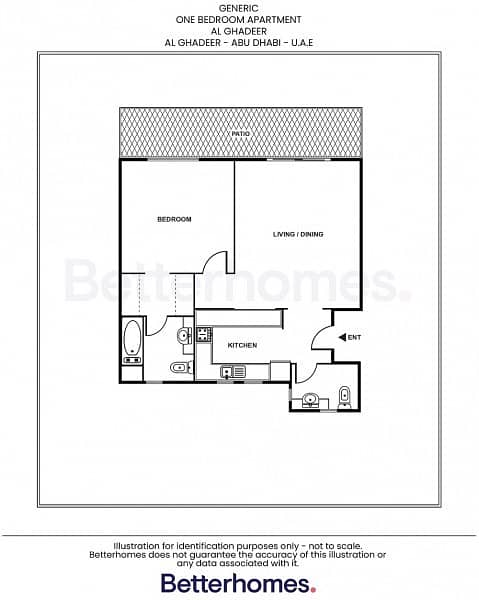 11 No ADM Fee |Amazing 1BR with Terrace - Al Gahdeer