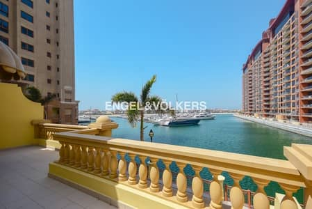 2 Bedroom Townhouse for Rent in Palm Jumeirah, Dubai - Sea and Marina View|Vacant|Viewing today