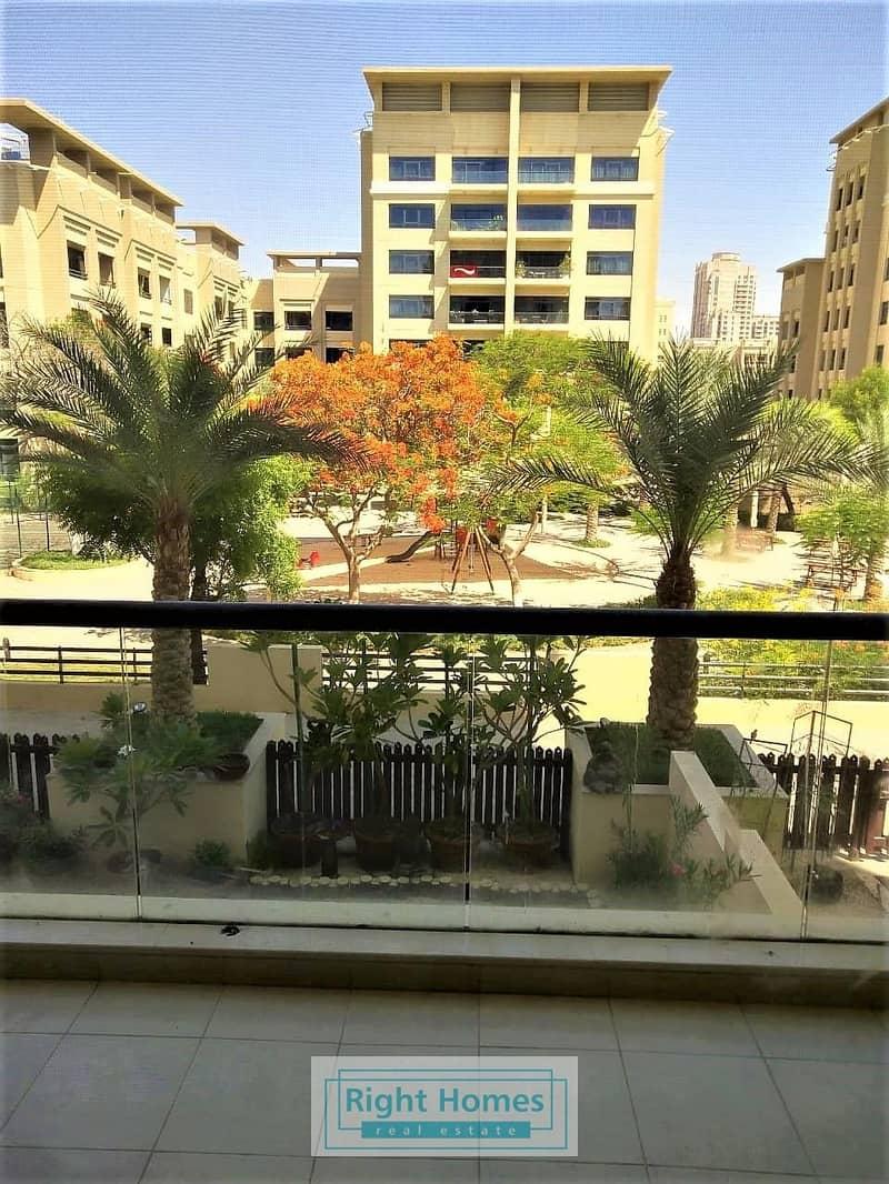 Garden View 3BR+Study in Al Nakheel
