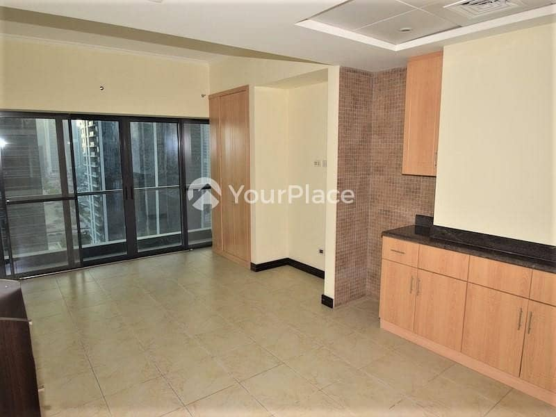 2 Fabulous Studio in GCV1 | Unfurnished | JLT