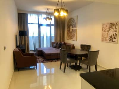 1 Bedroom Flat for Sale in Jumeirah Village Circle (JVC), Dubai - Furnished 1BR w/ Balcony | Ghalia Hotel Apts JVC