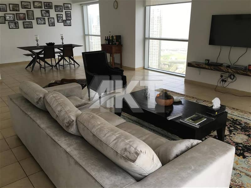 2 49M/ Marina Tower/ 2 Bed+Maid +Study/ Full Marina View