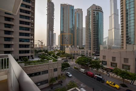 2 Bedroom Apartment for Sale in Downtown Dubai, Dubai - Amazing View I 2  BR w/ Balcony I Blvd. Central