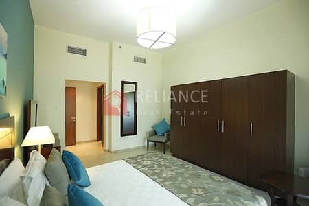 1 Bedroom Apartment for Sale in Jumeirah Village Triangle (JVT), Dubai - Furnished | One Bed Room for Sale| Pool & Community View JVT