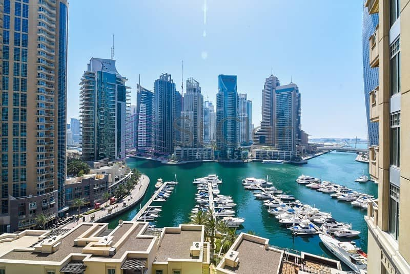 Cheapest 2BR in Al Anbar | Marina View | Low Floor