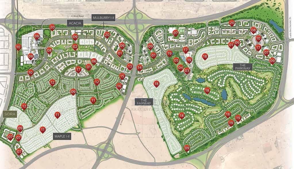 11 Sidra Villas | 25/75 Payment Plan |100% DLD off