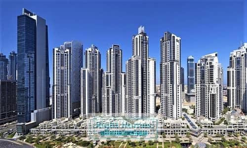 فلیٹ 4 غرفة نوم للبيع في الخليج التجاري، دبي - 4 BR + M For Sale in Executive Tower | Road's View