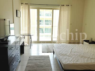 Studio for Sale in The Greens, Dubai - Fantastic deal?furnished?street view?well maintain