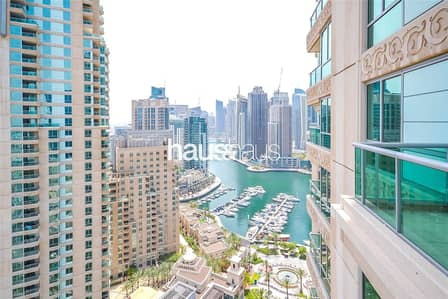 3 Bedroom Apartment for Rent in Dubai Marina, Dubai - 3 + Maid | Best Layout | Available Now