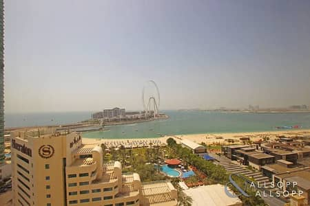 2 Bedroom Apartment for Sale in Jumeirah Beach Residence (JBR), Dubai - 2 Bedrooms | Vacant On Transfer | Upgraded