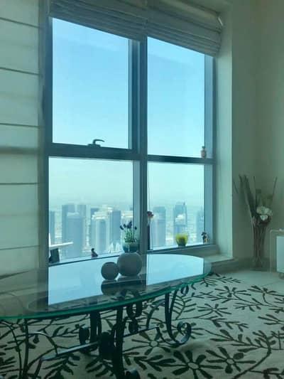 فلیٹ 2 غرفة نوم للايجار في دبي مارينا، دبي - شقة في برج الشعلة دبي مارينا 2 غرف 95000 درهم - 4128647