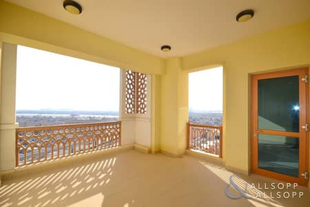 2 Bedroom Flat for Rent in Palm Jumeirah, Dubai - Two Bedroom   Atlantis View   Unfurnished