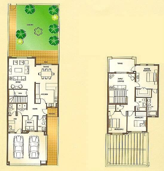 10 3 Bedrooms | Study | Maids | Landscaped
