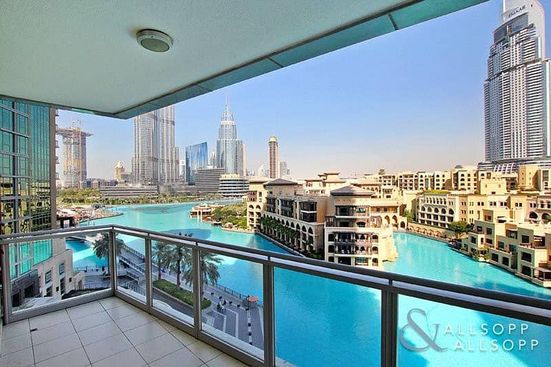 3 Bed Plus Maids | Fountain and Burj View