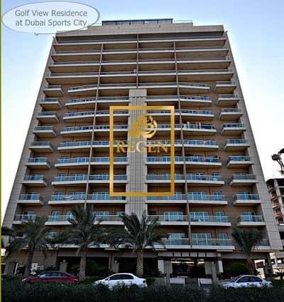 شقة 2 غرفة نوم للبيع في مدينة دبي الرياضية، دبي - Two Bedroom Hall Apartment in Golf View Residence For Sale