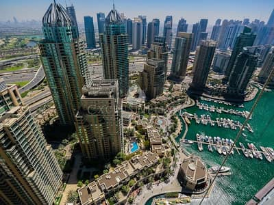 2 Bedroom Apartment for Rent in Dubai Marina, Dubai - Modern 2 bedroom with lovely Marina views