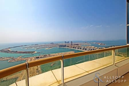 4 Bedroom Penthouse for Sale in Dubai Marina, Dubai - 4 Bedrooms | Full Sea View | Private Pool