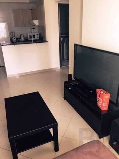 1 Bedroom Apartment for Rent in Jumeirah Lake Towers (JLT), Dubai - Balcony | Furnished | Chiller Free