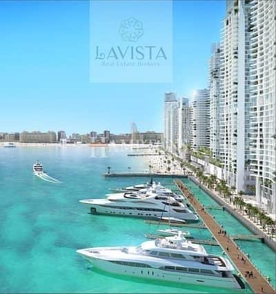 فلیٹ 2 غرفة نوم للبيع في دبي هاربور، دبي - 2 BR|No Commission|Emaar Beach Front