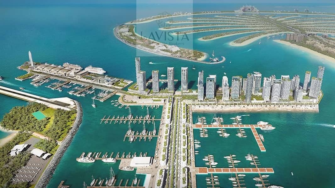 11 2 BR|No Commission|Emaar Beach Front