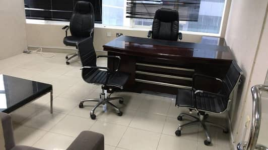 Office for Rent in Ajman Downtown, Ajman - Excellent Offices in Horizon tower with partition