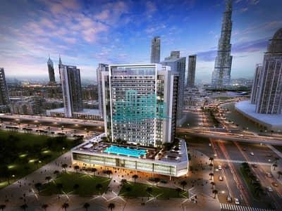 1 Bedroom Flat for Sale in Business Bay, Dubai - 0% DLD 1BR | BURJ KHALIFA/LAKE VIEW | furnished