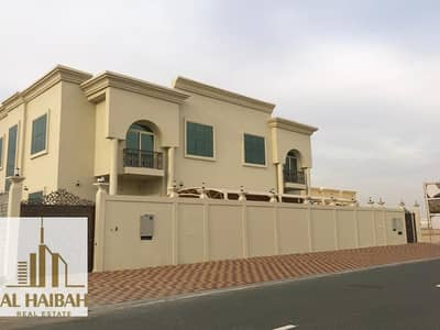 For sale two villas on one land in Al - Hushi area