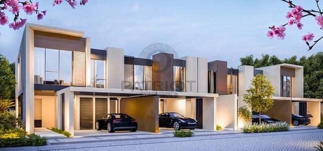 فیلا 4 غرفة نوم للبيع في دبي لاند، دبي - Meraas Townhouse 50% Post Handover 5 yrs