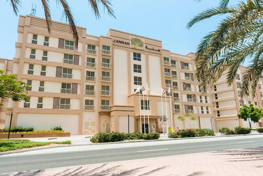 شقة فندقية في میناء العرب 1 غرف 55000 درهم - 4131654