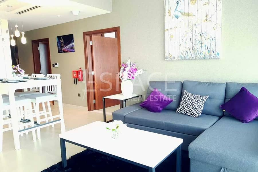 Luxury 1BR | Brand New | Fully Furnished
