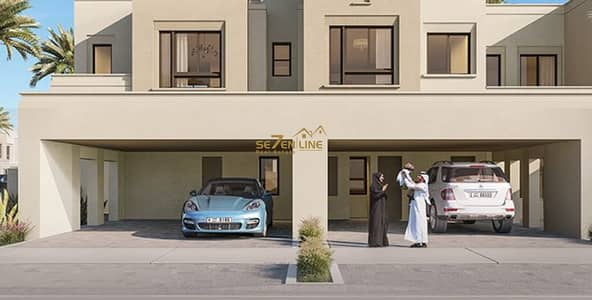 3 Bedroom Townhouse for Sale in Town Square, Dubai - Type 1 - Off Plan