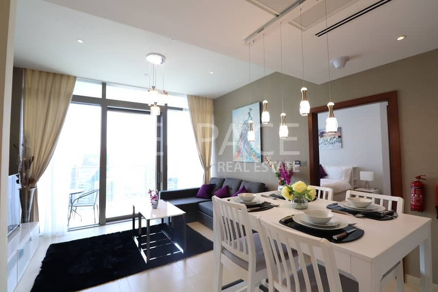 Brand New   Luxury 1 BR Fully Furnished