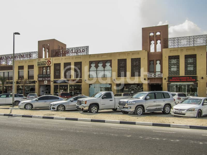 Showroom available for rent in Nad Al Hamar & Madina Avenues | Bayut com