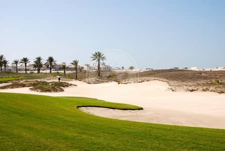 Plot for Sale in Saadiyat Island, Abu Dhabi - Build your own home on the golf course!!