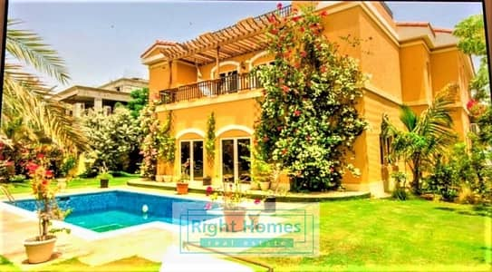 5 Bedroom Villa for Rent in The Villa, Dubai - Grand Furnished 5 BR Ponderosa Villa For Rent