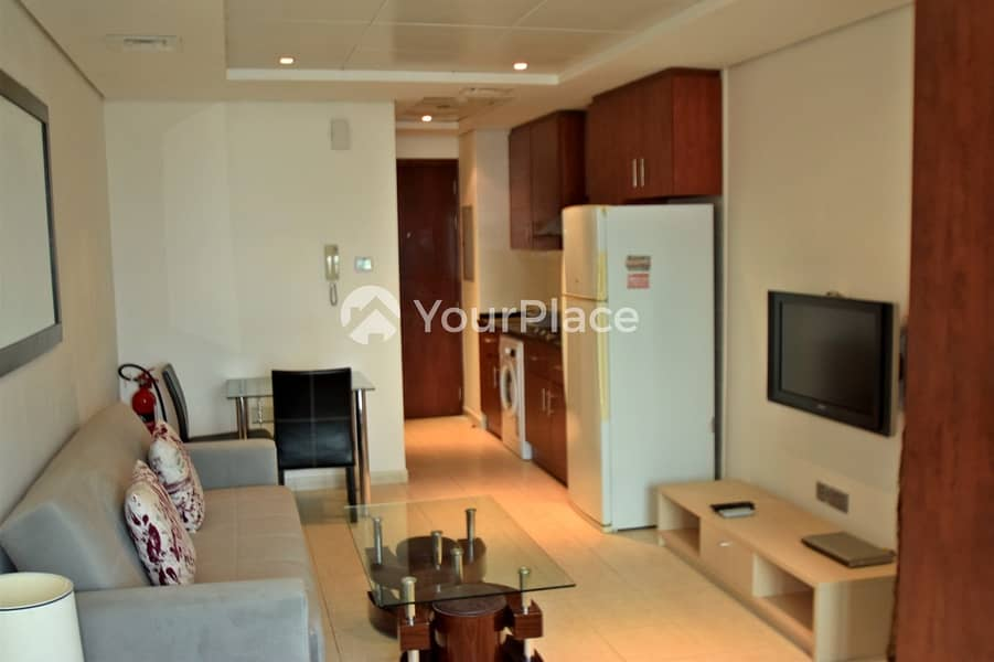 Exclusive Fully Furnished  Studio I Available Now I JLT