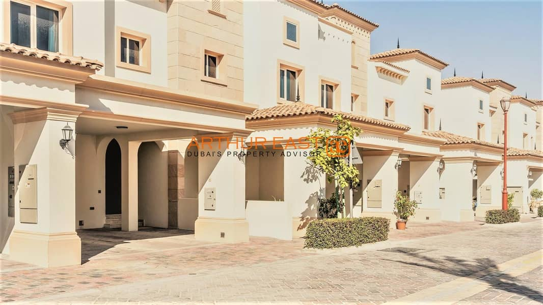 11 Buy a Ready Townhouses in Jumeirah Golf Estate