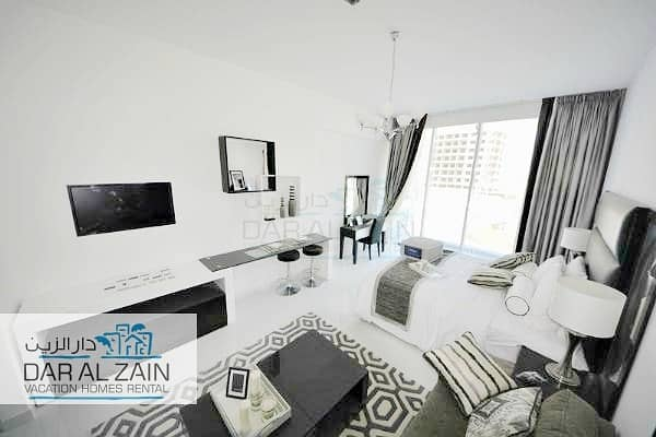 FULLY FURNISHED STUDIO APARTMENT IN DUBAI SPORTS CITY
