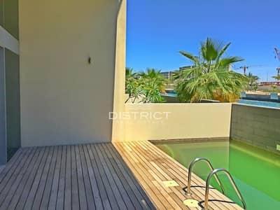 تاون هاوس 4 غرفة نوم للبيع في شاطئ الراحة، أبوظبي - Luxury Canal View 4BR Townhouse in Muneera.