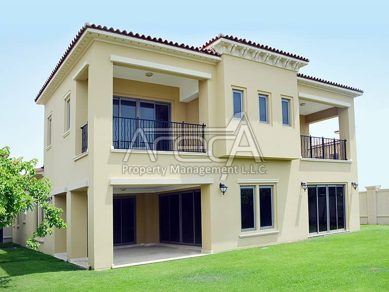 Ready to move in Deluxe 4 Master Bed Villa for Rent in Saadiyat Beach