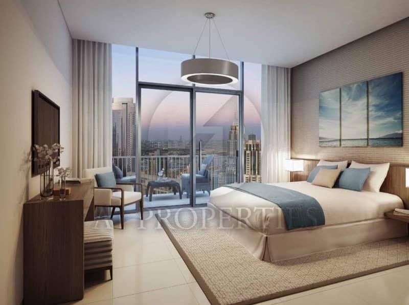 2 Resale -20% I Burj View I Brand new 2 Bed