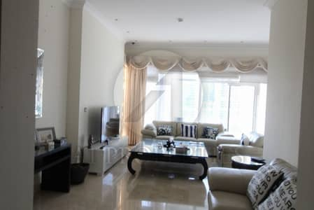 Semi Furnished 3BR with Full Marina View