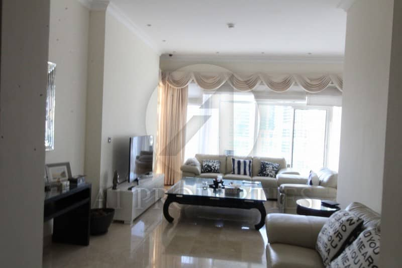 1 Semi Furnished 3BR with Full Marina View
